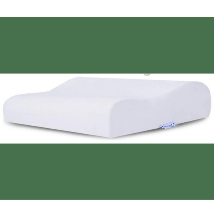 Fovera Orthopedic Memory Foam Cervical Pillow Standard White