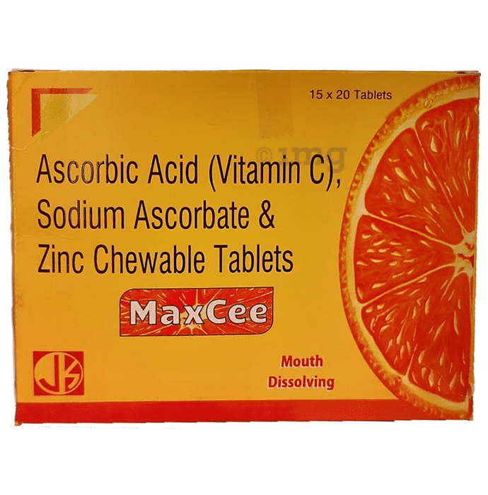 MaxCee Vitamin C Chewable Tablet