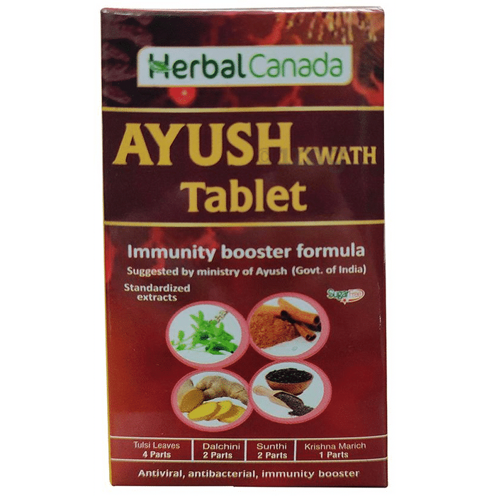Herbal Canada Ayush Kwath Tablet