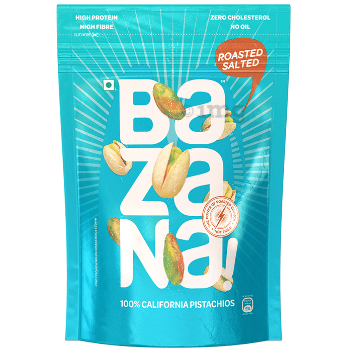 Bazana 100% California Roasted Salted Pistachios