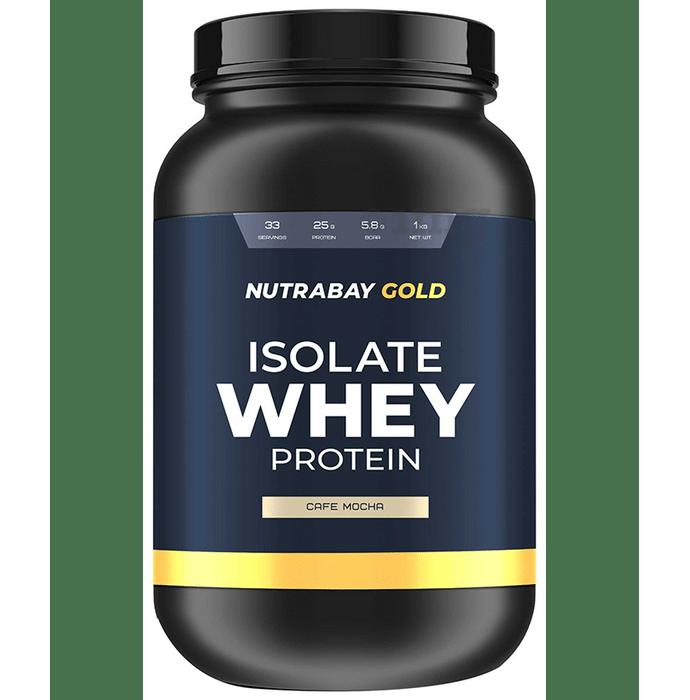 Nutrabay Gold Isolate Whey Protein Cafe Mocha