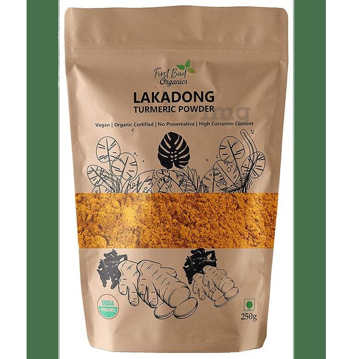 First Bud Organics Lakadong Turmeric Powder