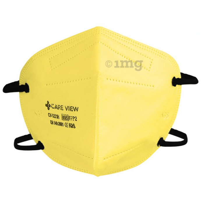 Care View Universal CV1221H N95 FFP2 Certified Headloop with 6 Layers Filtration Protective Mask