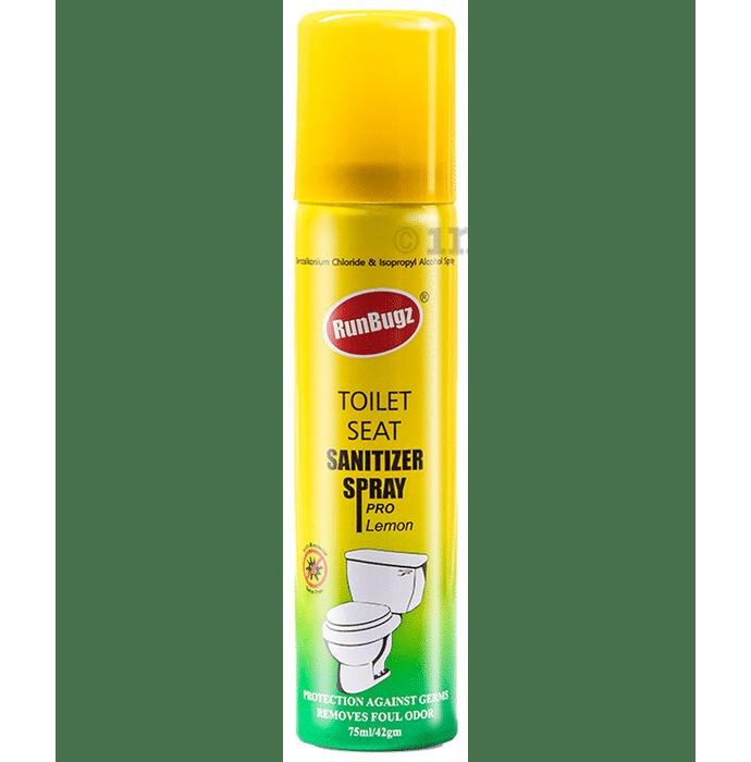 Runbugz Lemon Toilet Seat Sanitizer Spray Pro