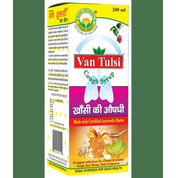 Basic Ayurveda Van Tulsi Cough Syrup
