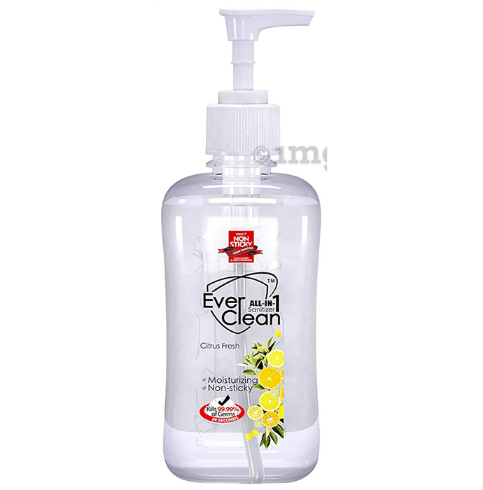 Ever Clean All In 1 Sanitizer (500ml Each) Citrus Fresh