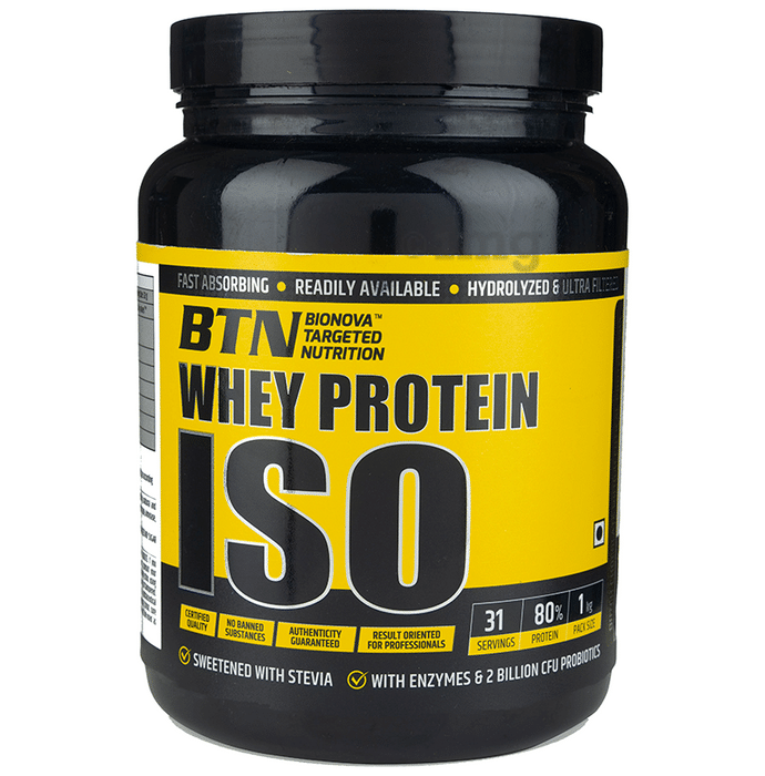 Bionova Targeted Nutrition Whey Protein Isolate