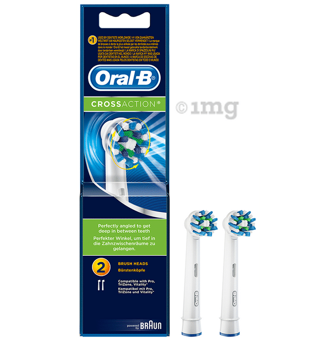 Oral-B Cross Action Power Replacement Heads