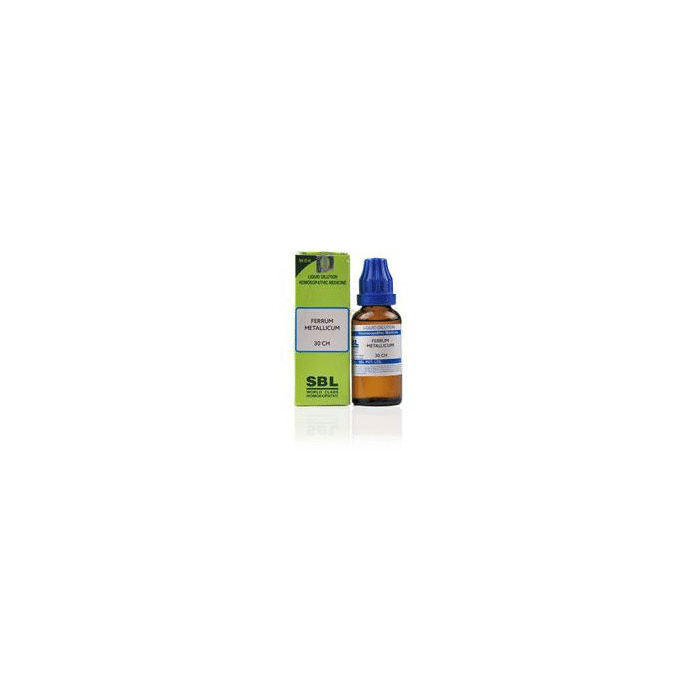 SBL Ferrum Metallicum Dilution 30 CH