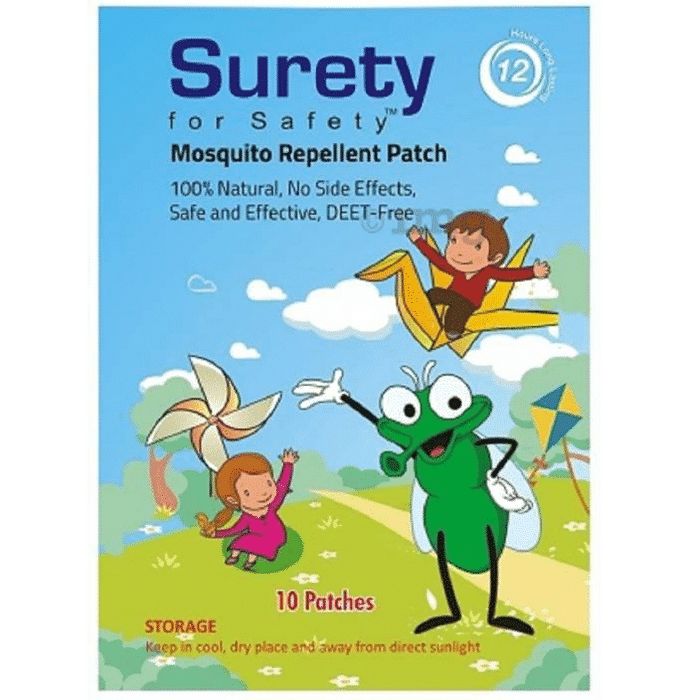 Surety for Safety Mosquito Repellent Patch