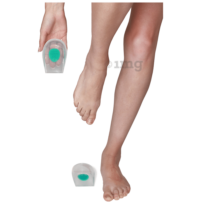 Tynor K 09 Heel Cup Silicone Pair Small