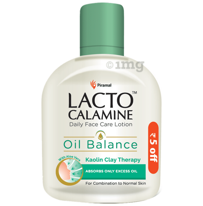 Lacto Calamine Oil Balance Lotion Combination to Normal Skin