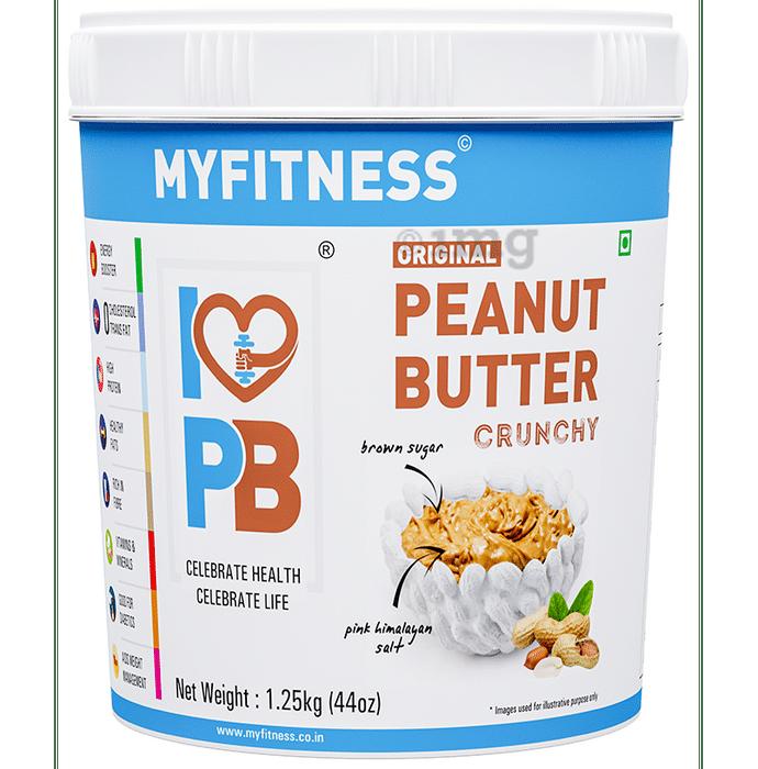Myfitness Peanut Butter Original Crunchy