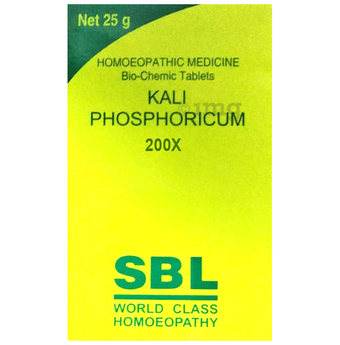 SBL Kali Phosphoricum Biochemic Tablet 200X