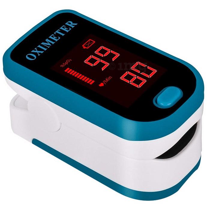 Sahyog Wellness Led Pulse Oximeter Blue and White