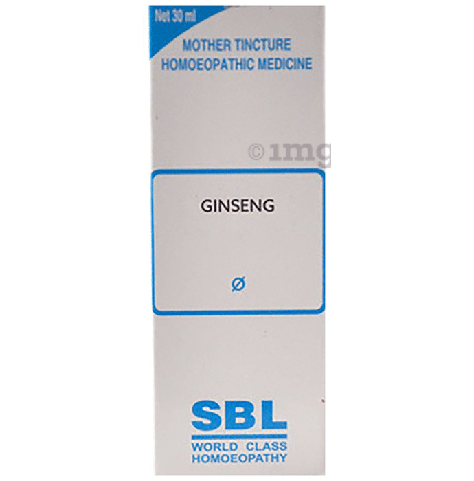 SBL Ginseng Mother Tincture Q