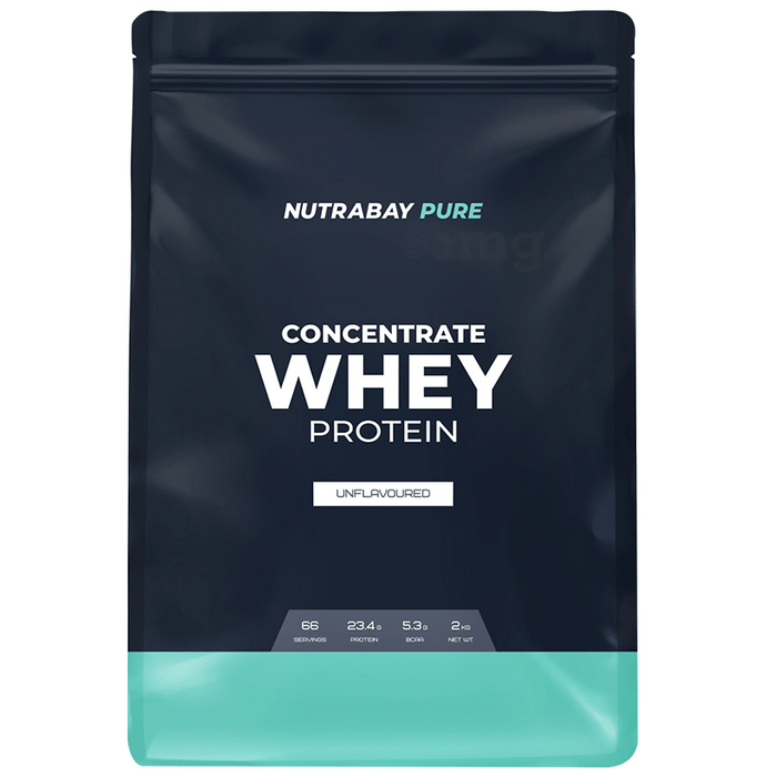 Nutrabay Pure Concentrate Whey Protein Unflavoured