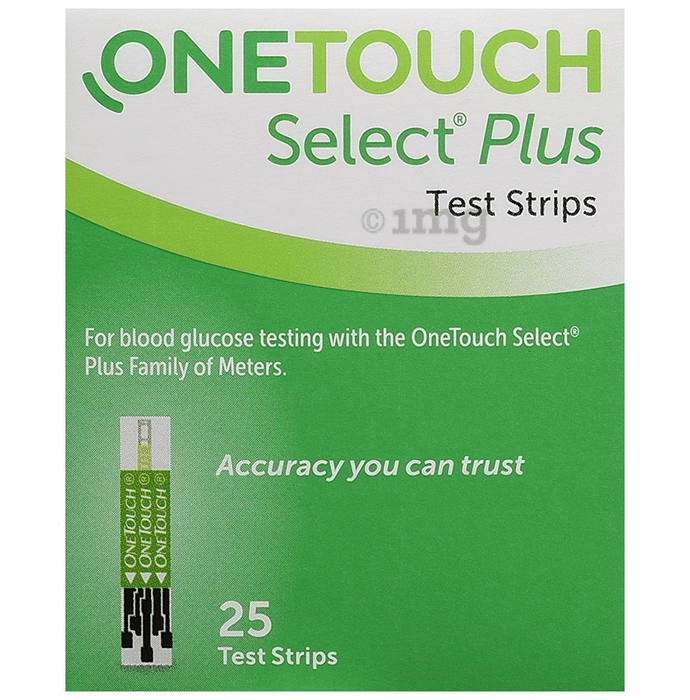 OneTouch Select Plus Test Strip Green