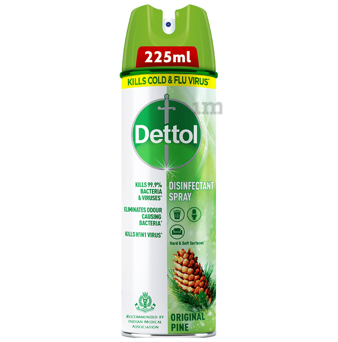 Dettol Original Pine Disinfectant Spray Sanitizer for Germ Protection on Hard & Soft Surfaces