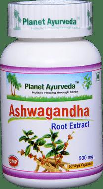 Planet Ayurveda Ashwagandha Capsule