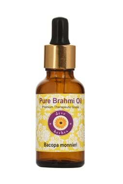 Deve Herbes Pure Brahmi/Bacopa Monnieri Oil