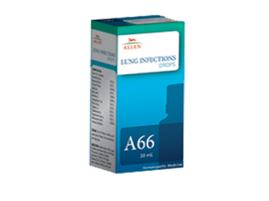 Allen A66 Lung Infections Drop