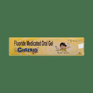 Cheerio Fluoride Medicated Oral Gel