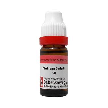 Dr. Reckeweg Natrum Sulphuricum Dilution 30 CH