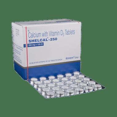 शेलकैल -250 टैबलेट
