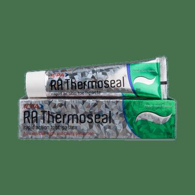 रा थर्मोसील रैपिड एक्शन फ्रेश मिंट टूथपेस्ट