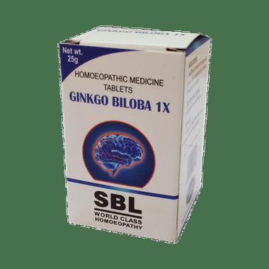 SBL Ginkgo Biloba Tablet 1X