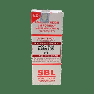 SBL Aconitum Napellus 0/6 LM