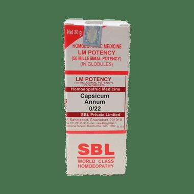 SBL Capsicum Annum 0/22 LM