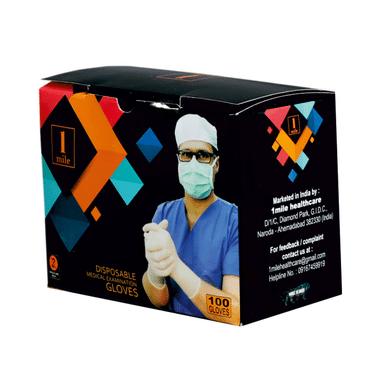 1Mile Disposable Medical Examination Glove Small