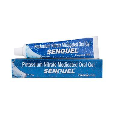 Senquel Foaming Medicaled Oral Gel