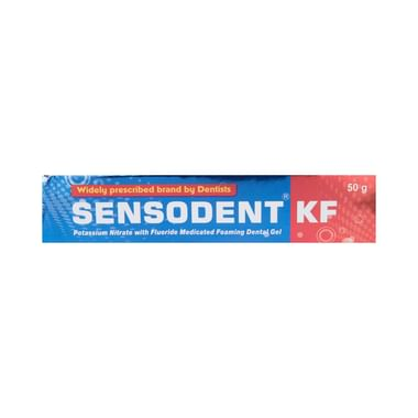 Sensodent KF Medicated Foaming Dental Gel