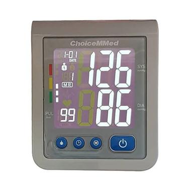 ChoiceMMed CBP1E2 Blood Pressure Monitor Grey