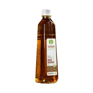 Satvyk Wood Pressed Black Mustard Oil