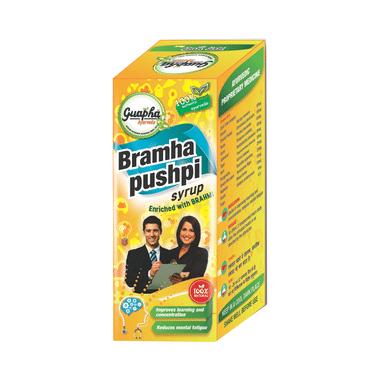 Guapha Ayurveda Bramha Pushpi Syrup