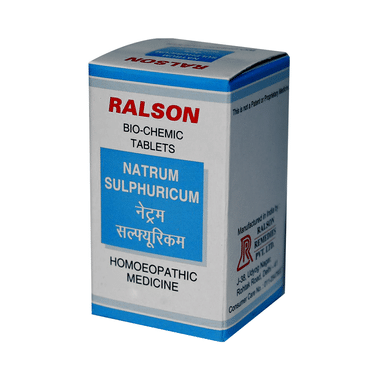 Ralson Remedies Natrum Sulphuricum Biochemic Tablet 12X