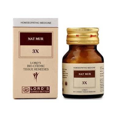 Lord's Nat Mur Biochemic Tablet 3X