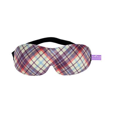 Viaggi 3D Eye Mask Purple Printed
