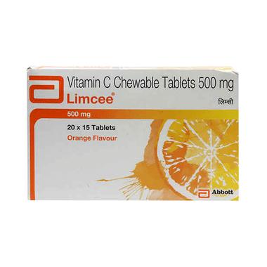 Limcee Chewable Tablet Orange