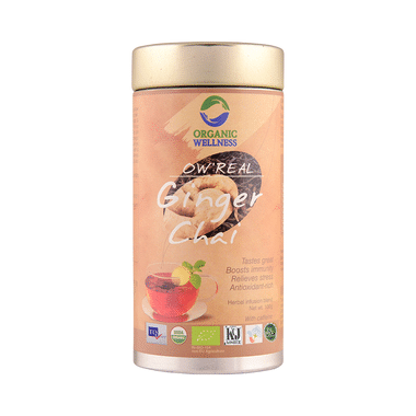 Organic Wellness OW' Real Chai Infusion Blend Ginger