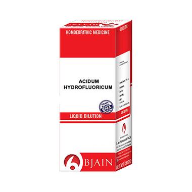 Bjain Acidum Hydrofluoricum Dilution 200 CH