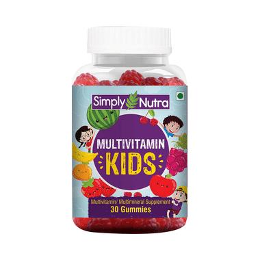 Simply Nutra Multivitamin Kids Gummy