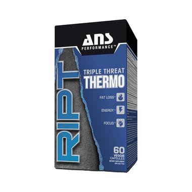 ANS Performance RIPT Triple Threat Thermo Veggie Capsule