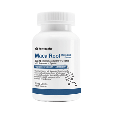 Trexgenics Maca Root Veg Capsule