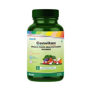 HealthVit Cenvitan Whole Food Multivitamin Women Tablet