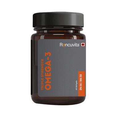Roncuvita Triple Strength Omega 3 Softgel